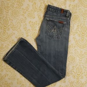 Seven 7 For All Mankind A Pocket Jeans size 27